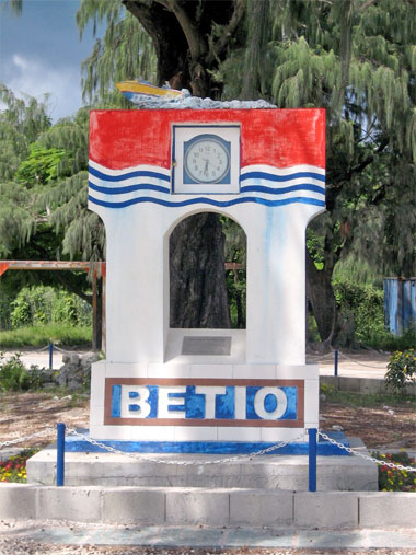 Betio marker on Tararwa