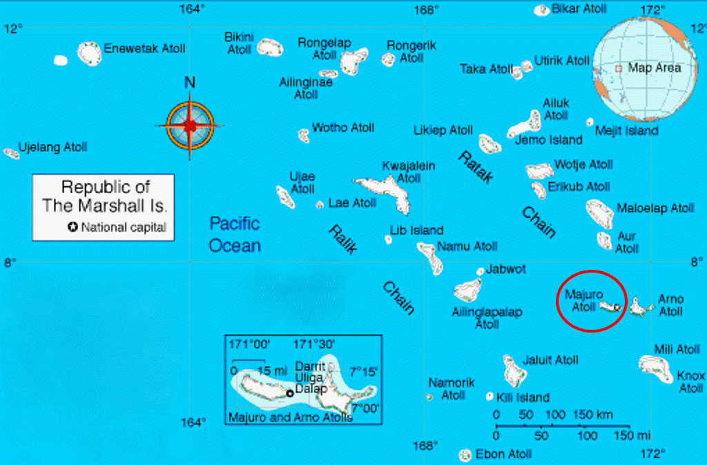 Marshall Islands Current Time